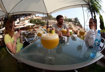 Pisco by the sea. (Photo by Mary OConnor)