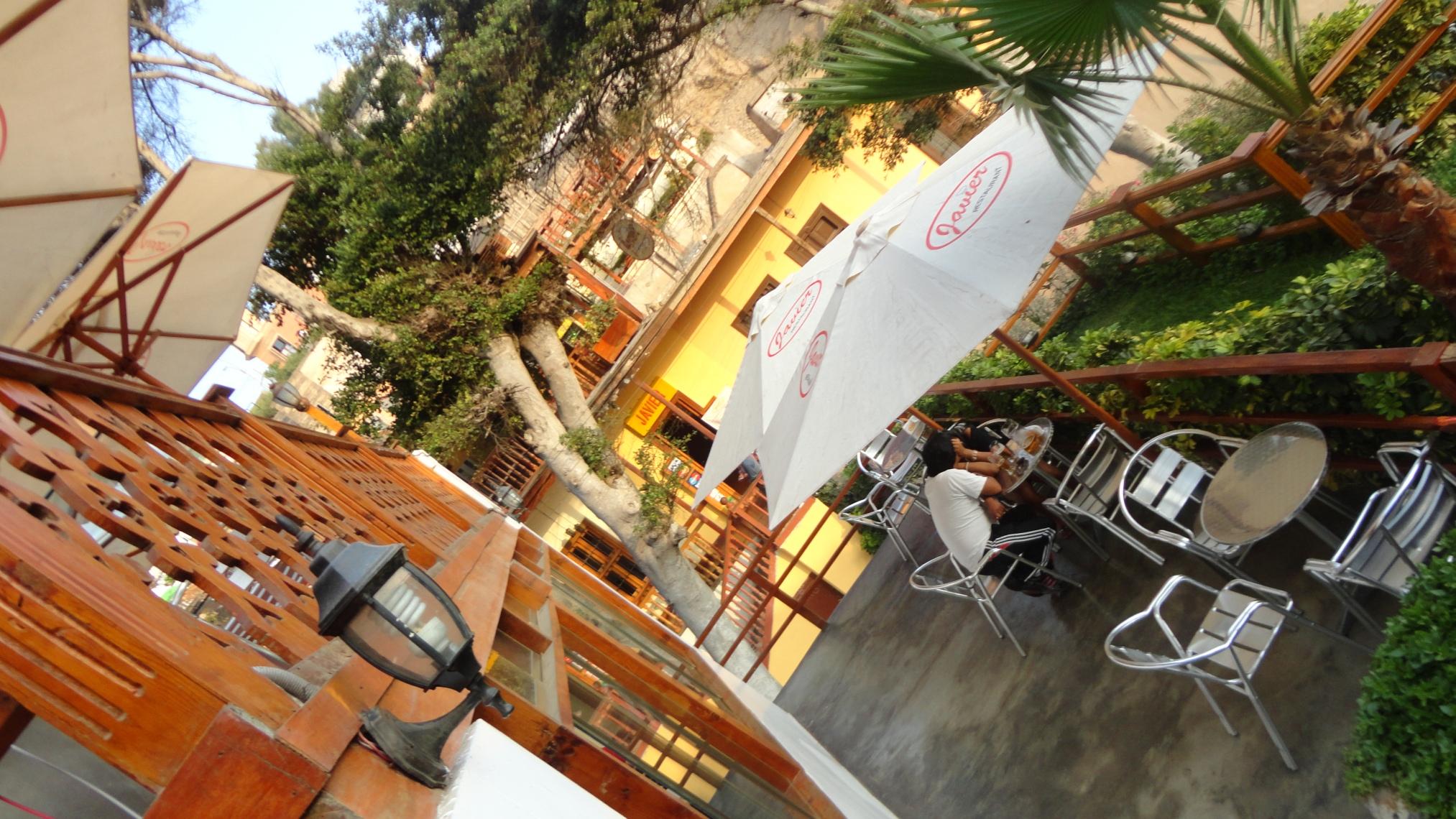 Cafe in Barranco