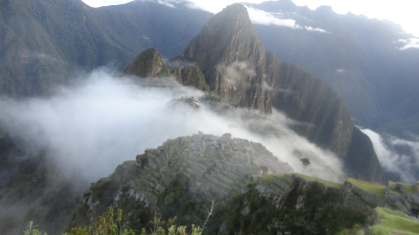 Machu Picchu- our final destination