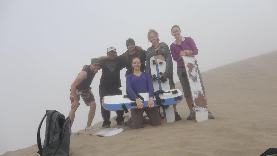 Sandboarding the world largest sand dune