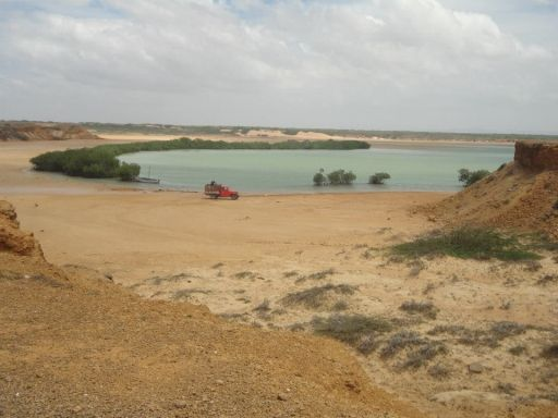 Punta Gallinas, on the Guajira Peninsula, Colombia
