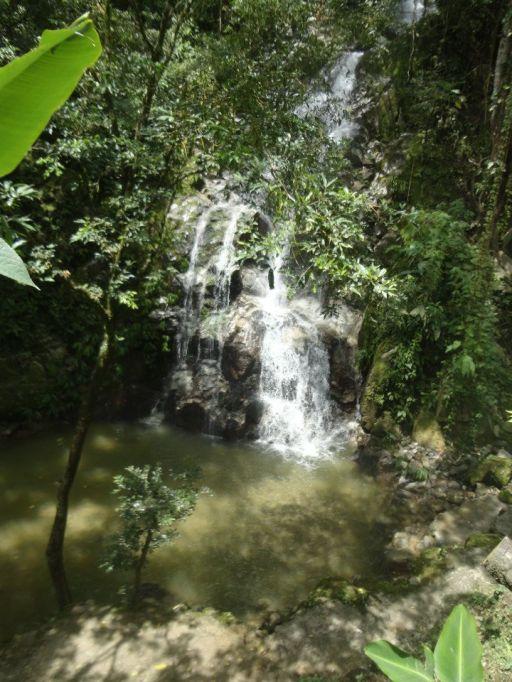 Waterfall in Minca
