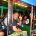 On a chiva party bus