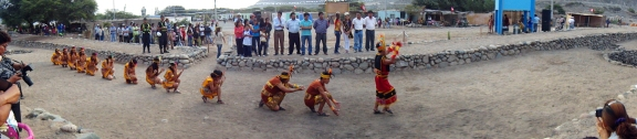 Traditional Inca festival just outside of Nazca, Peru