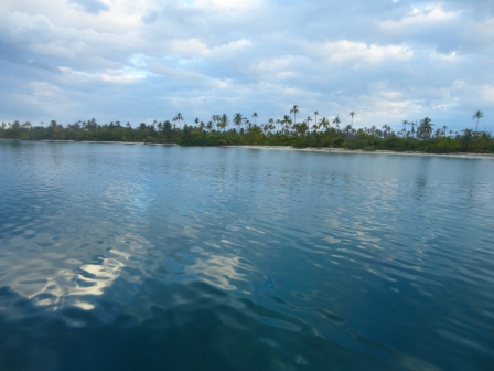 Waking up in the San Blas Islands