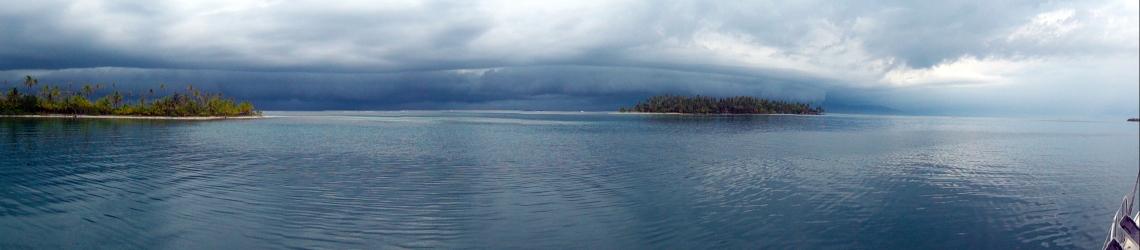 Calm before the storm, San Blas Islands, Panama