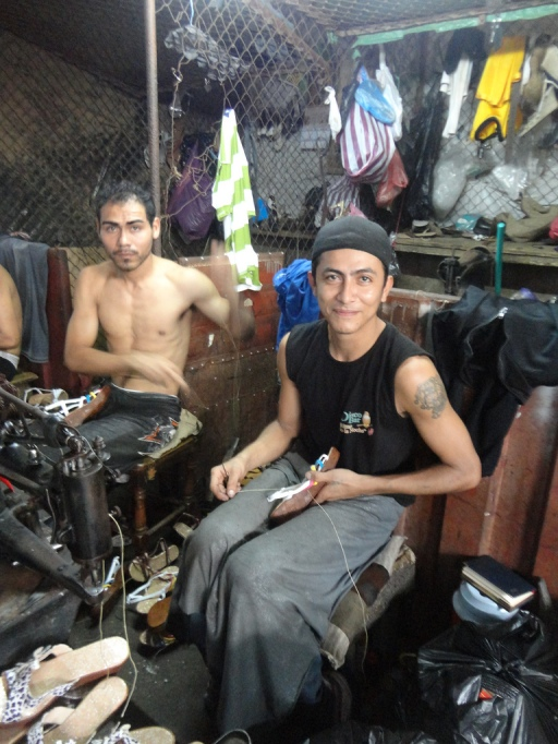Shoemakers in Massaya