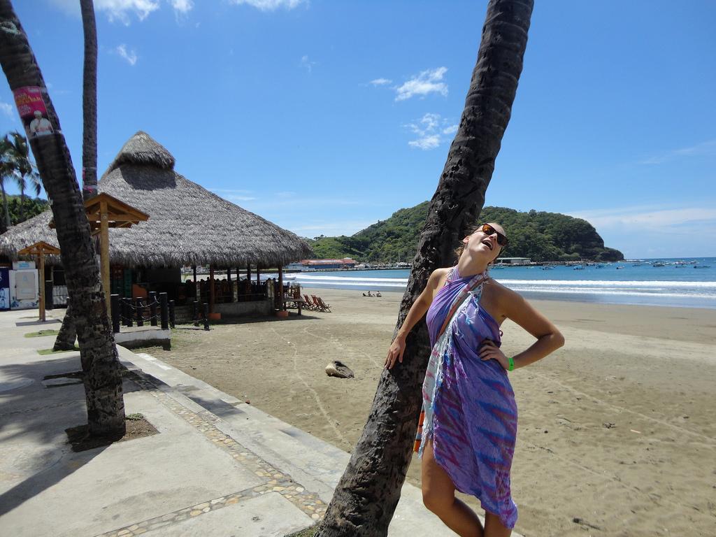 Embracing the beach life