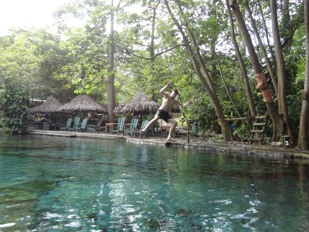 Swinging into El Ojo de Agua