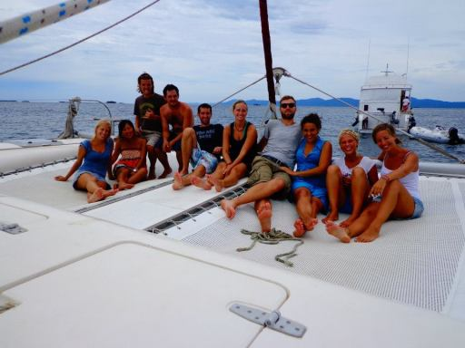 San Blas sailing crew