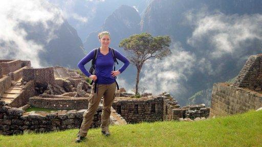 Finally reaching Machu Picchu after 4 days of hiking