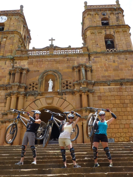Mountain biking through the Colombian Highlands
