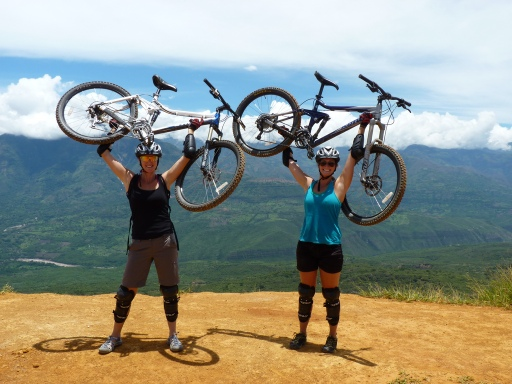 Feeling strong--near San Gill Colombia