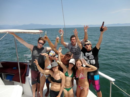 Sailing off Mexico's central Pacific coast