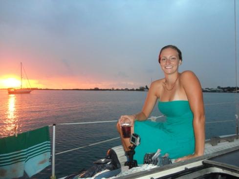 Aboard Hedwig, in the Bay Islands
