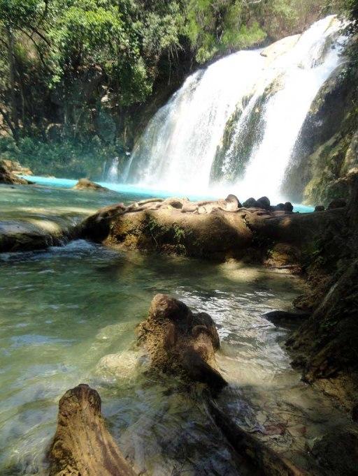 El Chiflon Falls, Chiapas, Mexico