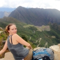 The triumph of reaching the sun gate at Machu Picchu after 5 days of hiking