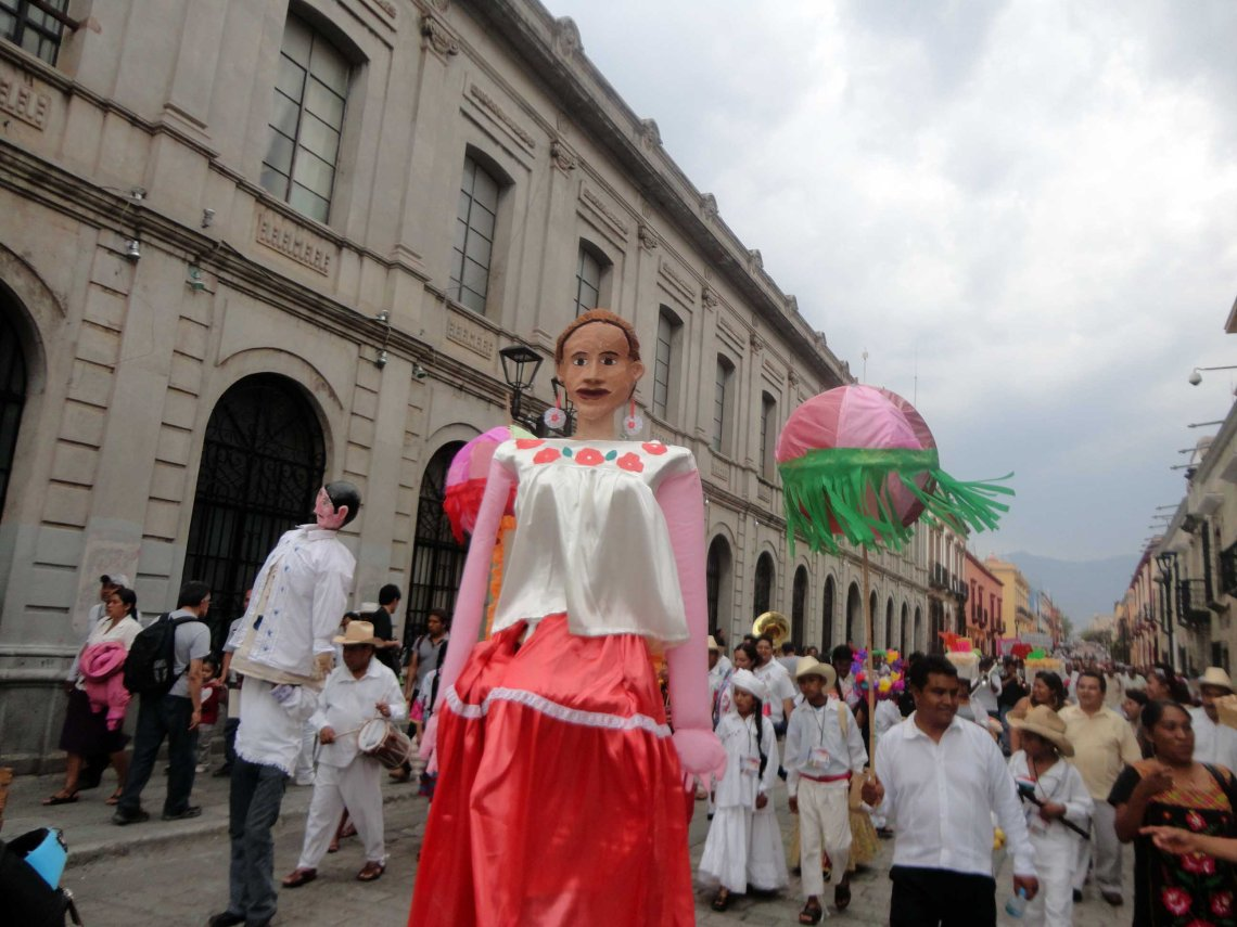 Does a day go by in Mexico where there isn't a parade somewhere?