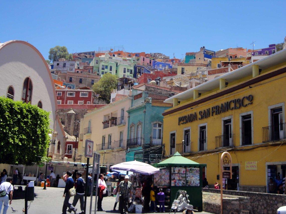 The City of Guanajuato; a UNESCO World Heritage Site