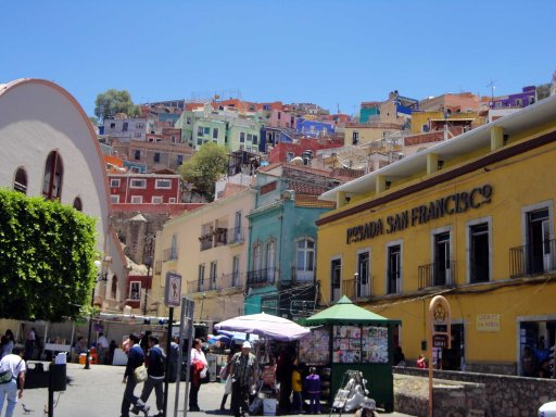 The City of Guanajuato; a UNESCO World Heritage Site