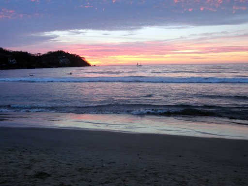 Another beautiful sunset on Mexico's pacific coast