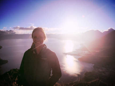 Sunrise over Atitlan, Guatemala