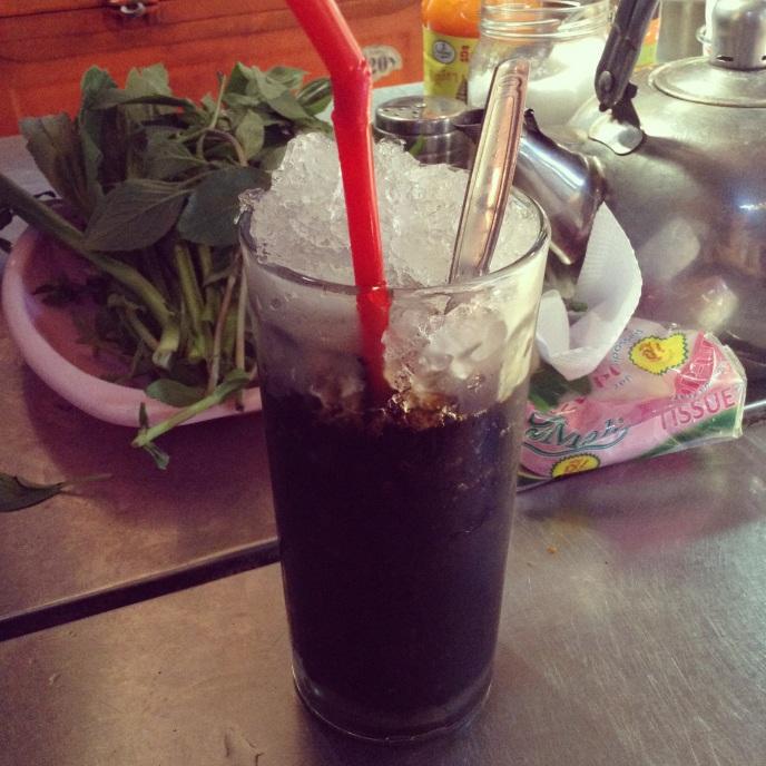 Cambodian coffee, Phnom Penh, Cambodia