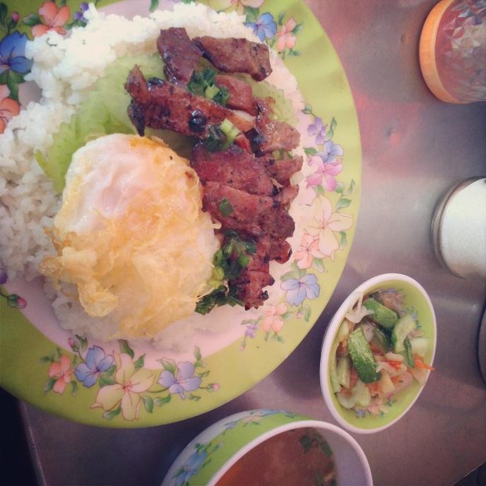 My favorite breakfast in Cambodia