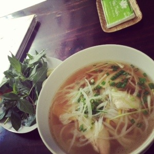 Chicken Pho in Saigon