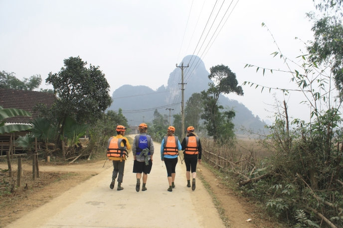 Caving in Phong Nha