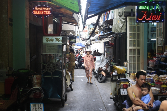 The mysterious alleyways of Saigon