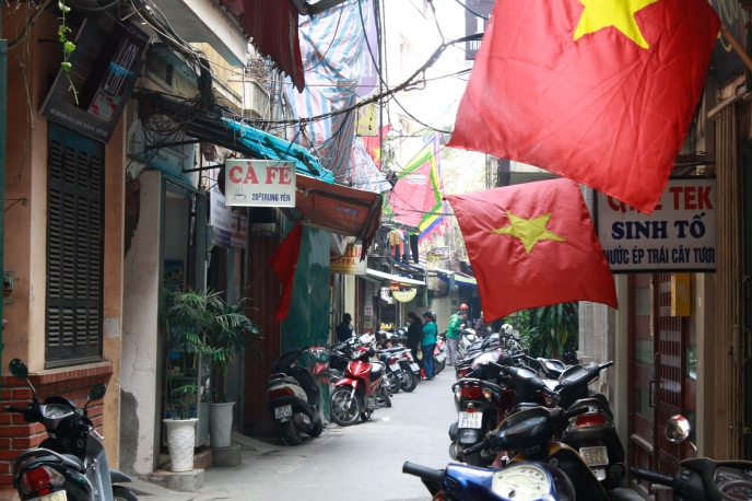 Hanoi's 1000 year old Old Quarter