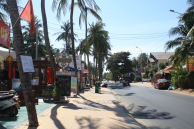 The streets near Mui Ne
