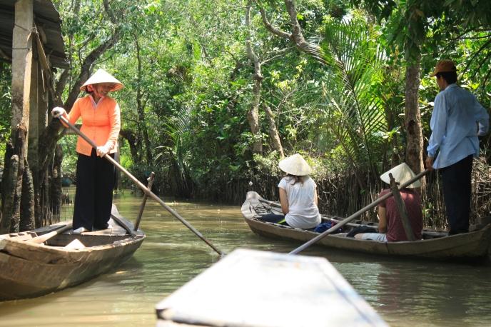 Cruising down the Mekong