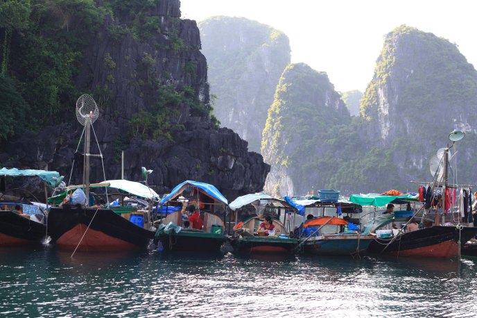 Fishing Village, Ha Long Bay
