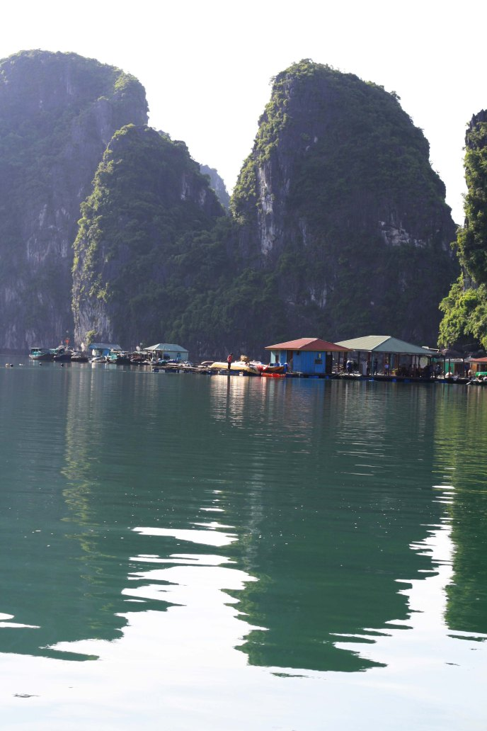Floating Fishing Village, Ha Long Bay, Vietnam