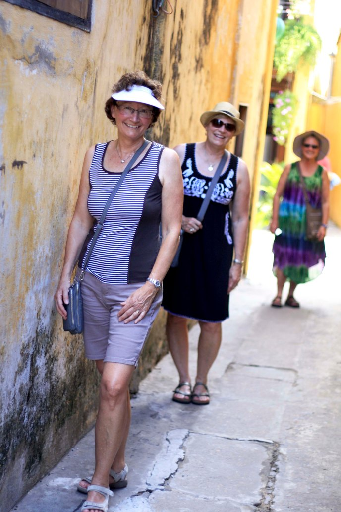 Enjoying the streets of Hoi An
