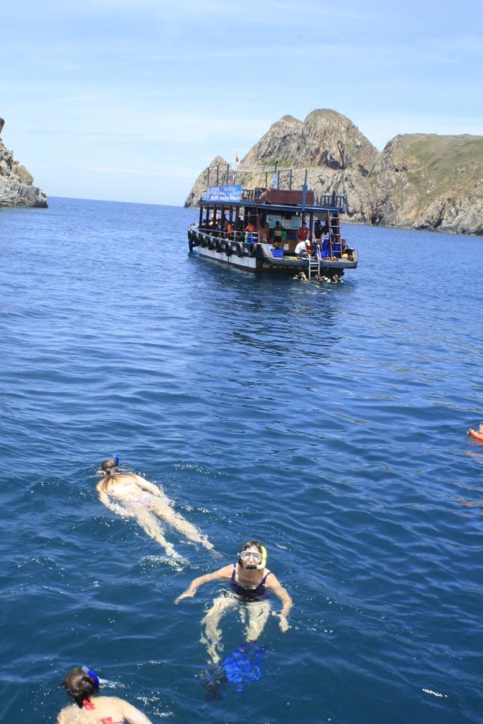 Snorkeling near Nha Trang