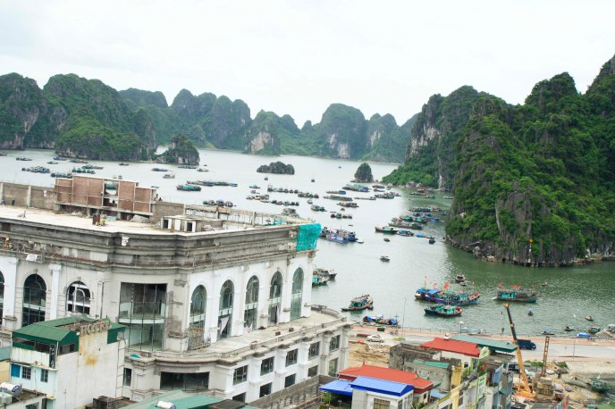 View from Ha Long City, Ha Long Bay