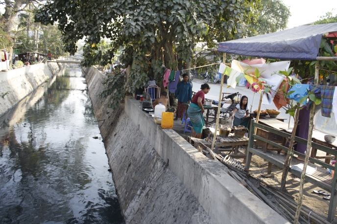 The streets of Mandalay