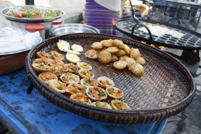 Streetfood in Myanmar