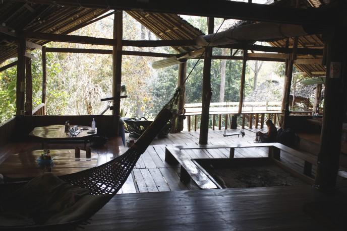 At Cave Lodge