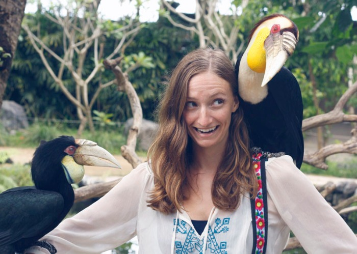 Me and the Hornbills