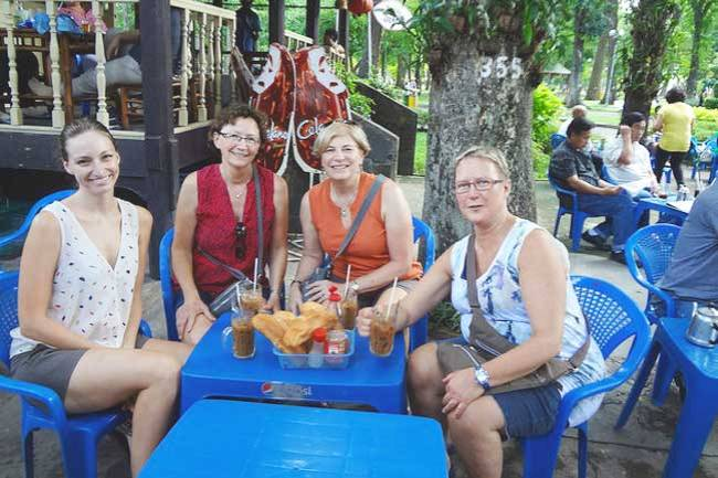Breakfast in Ho Chi Minh City