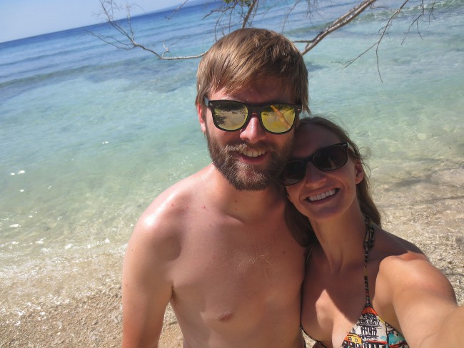 Happy with our decision to visit Gili Meno